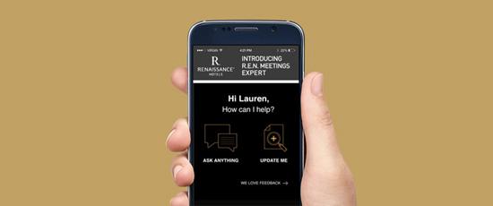 Aplicación para reuniones Meeting Services App