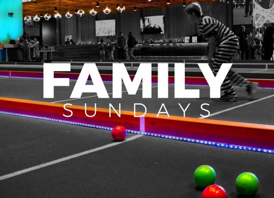 Family Day at Bundox Bocce