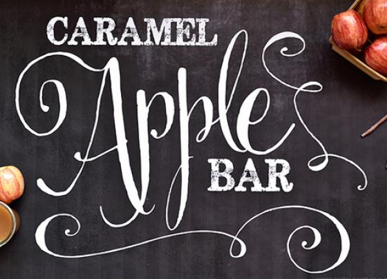 Caramel Apple Bar for CMN