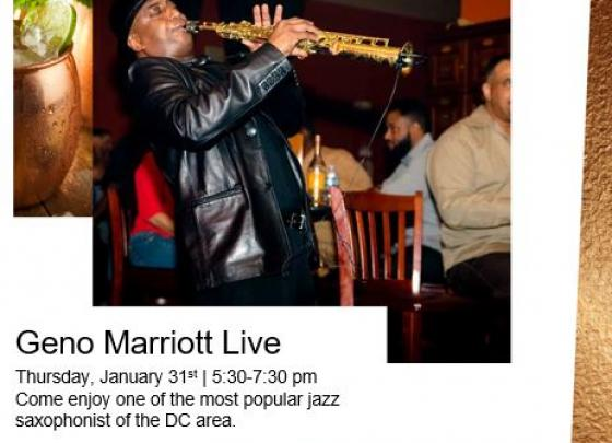 Live Music with Geno Marriott