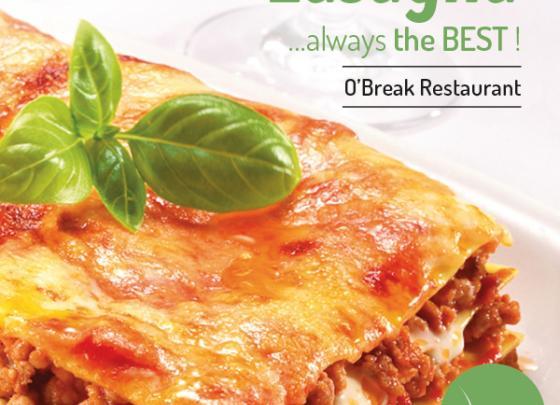 Lasagna. Always the BEST!