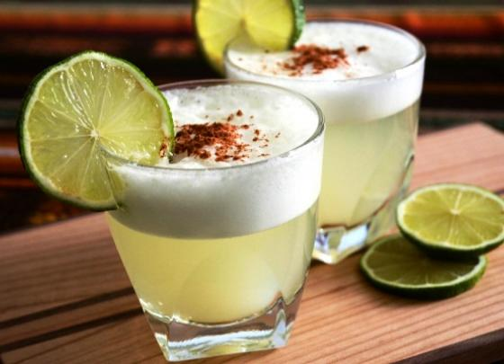 Pisco and Ceviche Shooters!