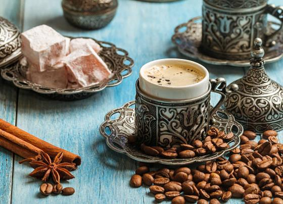 Turkish Coffee & Turkish Delight