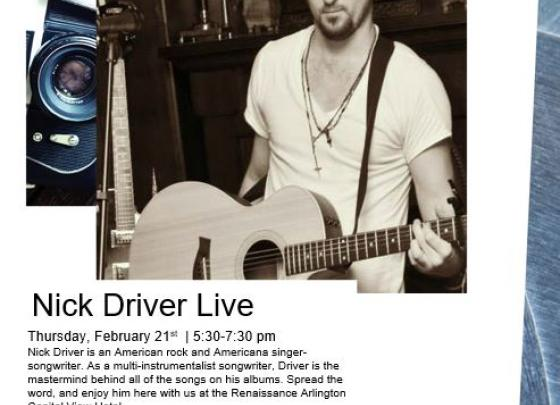 Live Music with Nick Driver