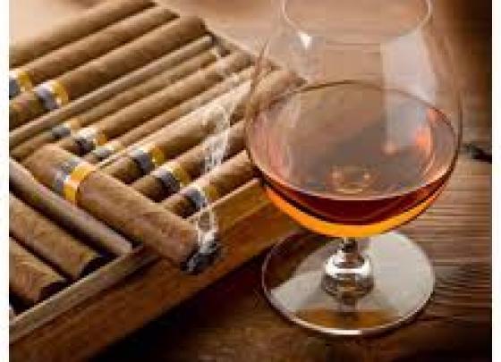 Bourbon, Beer, Cigars & Guitar