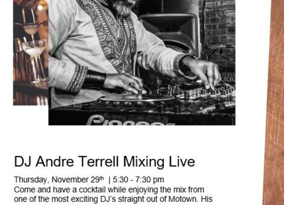 Live Music with Andre Terrell