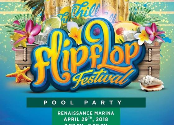 Flip Flop Pool Party