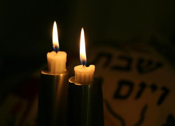 Lighting of Shabbat candles