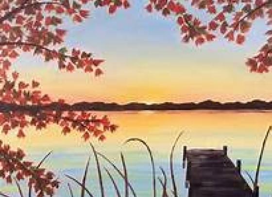 Paint Nite-Autumn Dock