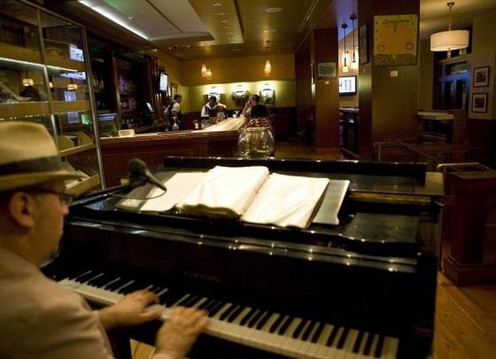 John Anthony on the Piano