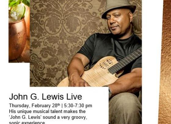 Live Music with John G Lewis
