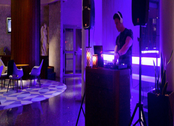DJ In The Lobby