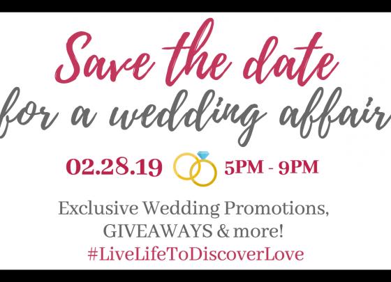 Save The Date: A Wedding Affair