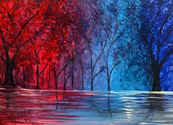 Paint Nite-Colorful Soul