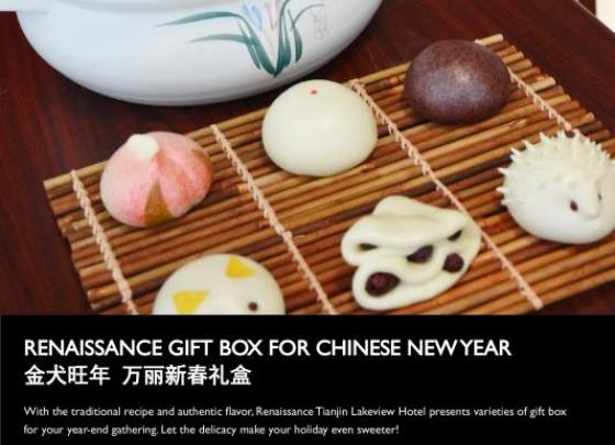 New Year's Chinese Pastry Gift Box