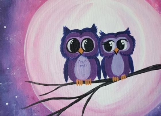 Paint Nite - Owl Of You Always