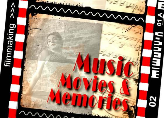 Music from the Movies in the lobby
