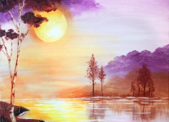 Paint Nite - Sunrise Lake