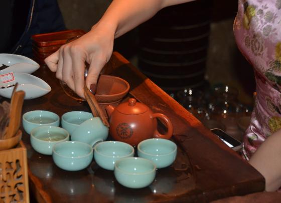 Taste of Pu'er tea