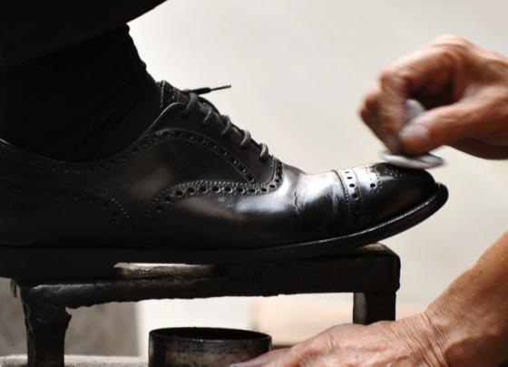 Shoe Shine Station Just for You!