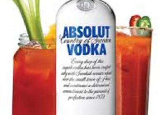 Absolut Bloody Mary Bar