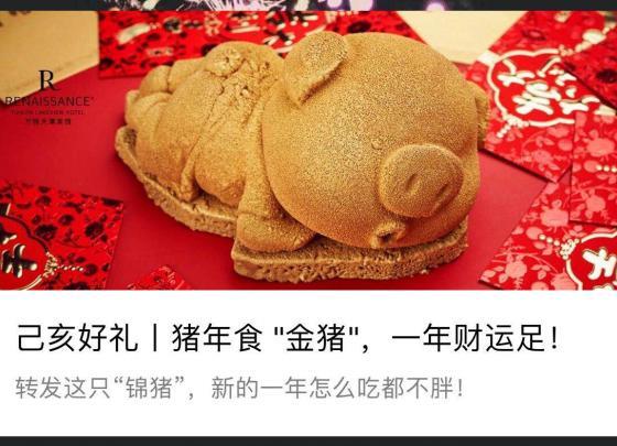 Happy Lunar New Year of Pig