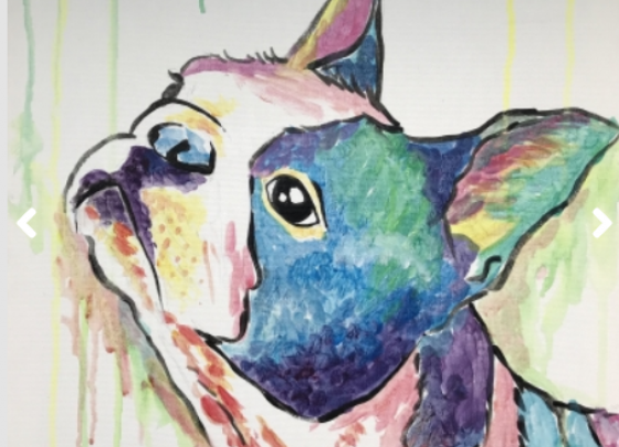 Paint Your Pet at Paint Night