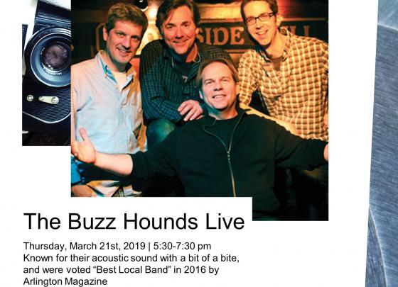 Live Music with The Buzz Hounds
