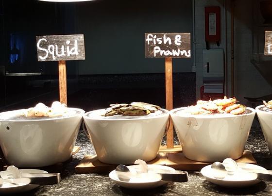 Seafood Beach BBQ Buffet